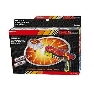 Brinquedo Pistola Lançadora de Pião Sortido Candide 3801