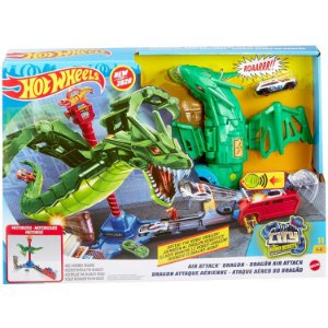 Hot Wheels City Pista Ataque Aereo do Dragao da Mattel Gjl13