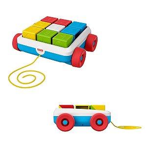 Brinquedo Educativo Fisher Price Carrinho de Blocos GML94