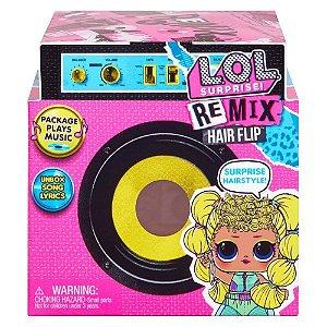 Boneca Lol Surprise Remix HairFlip Surpresa da Candide 8954