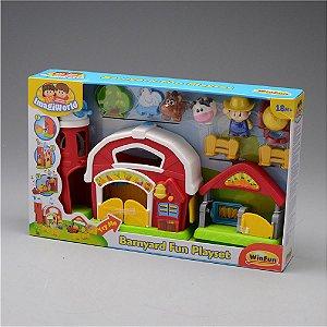 Brinquedo Infantil Celeiro Divertido WinFun Imagiworld 1305
