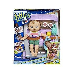 Boneca Baby Alive Littles Com Carrinho de Bebê Hasbro E6703