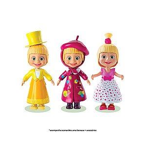 Brinquedo Boneca Masha Fashion Com Acessórios Sortida 1475