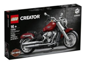 Brinquedo Motocicleta Lego 10269 Harley Davidson Fat Boy