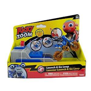 Brinquedo Ricky Zoom Figura com Lançador Sortidos Tomy 2091
