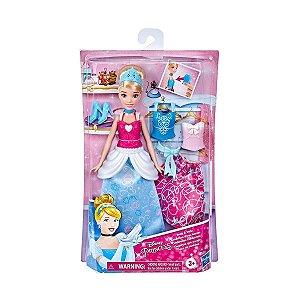 Boneca Princesa Disney Cinderela Com Acessório Hasbro E9591