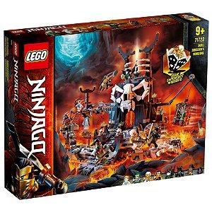 Lego Ninjago Masmorra do Feiticeiro Caveira 1171 Peças 71722
