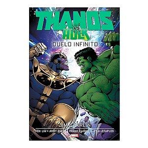 Hq Marvel Comics Thanos Vs Hulk Ediçao Duelo Infinito Panini