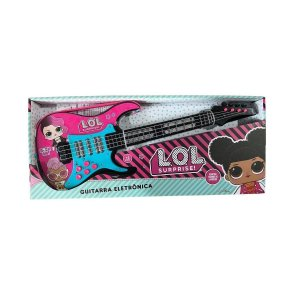 Brinquedo Guitarra Eletrônica LOL Surprise Candide 9820