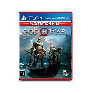 Jogo Mídia Física Lançamento God Of War HITS Exclusivo Ps4
