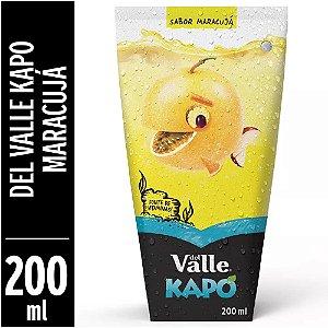 Fardo Lacrado Com 12Un de Suco Kapo Del Valle Maracujá 200ml