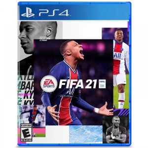 Jogo Novo Midia Fisica Fifa 21 EA Lacrado Original para Ps4