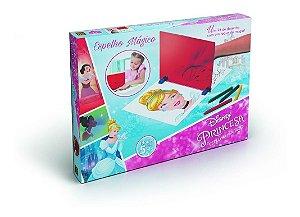 Brinquedo Desenho Espelho Mágico Princesas Original Grow