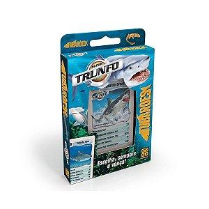 Jogo de Cartas Deck Super Trunfo Tubarões da Grow 03715