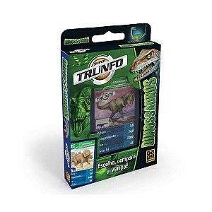 Jogo de Cartas Deck Super Trunfo Dinossauros da Grow 01402