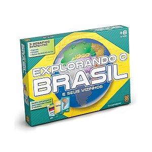 Novo Jogo Explorando o Brasil Completo da Grow 01658