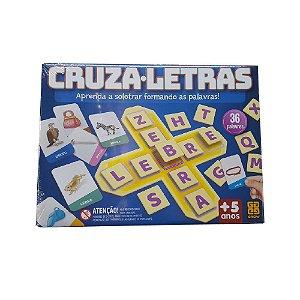 Jogo de Cartela Cruza-letras Aprenda a Soletrar Grow 01688