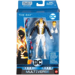 Figura DC Multiverse Collect e Connect The Ray Mattel Fvy90