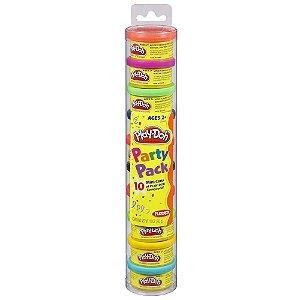 Brinquedo Massinha Party Pack Play - Doh Hasbro 22037