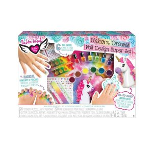 Super Conjunto de Design de Unhas Infantil Fashion Angels