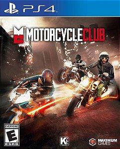 Jogo Novo Lacrado Motorcycle Club Para Playstation 4 Ps4