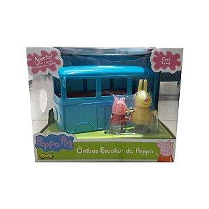 Brinquedo Infantil Onibus Escolar da Peppa Pig Sunny 2305
