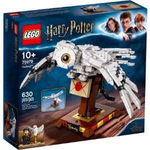 Lego Harry Potter Playset Coruja Hedwig com 630 Peças 75979