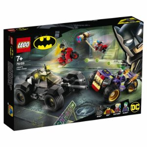 Lego Batman Playset Perseguiçao do Triciclo do Joker 76159