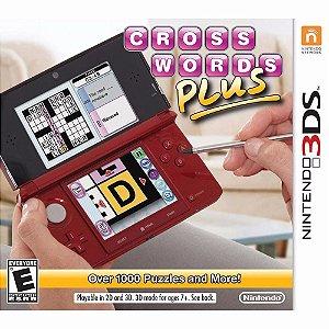Jogo Novo Lacrado Cross Words Plus Para Nintendo 3ds