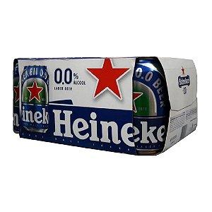 Fardo de Cerveja Heineken Zero Alcool Pure Malt Lager
