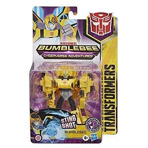 Boneco Transformers Cyberverse Warriors Bumblebee Hasbro