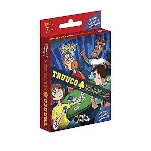 Jogo de Cartas Truuco Maluco Pais e Filhos 54 Cartas 7162