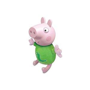 Brinquedo Peppa Coleção Pim Pam Pum George Estrela 3810