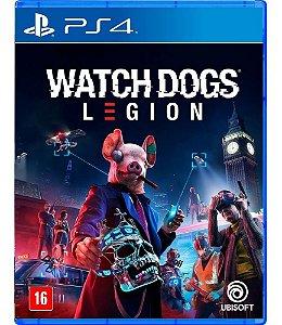 Jogo Watch Dogs Legion Ps4 Playstation Mídia Física Lacrado