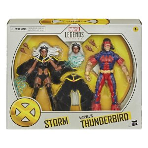 Figura Marvel Legends Series X-Men Storm e Thunderbird E9297