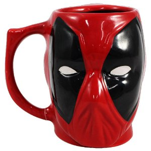 Nova Caneca 3d 400ml Deadpool Zonacriativa