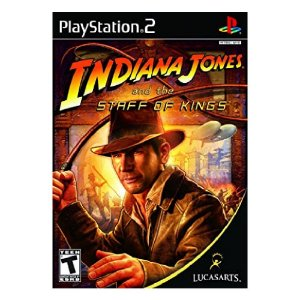 Jogo Indiana Jones and the Staff of Kings Play Station 2