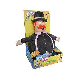 Brinquedo Pelúcia Com Som Incrivel Mundo de Bita Fun F00162