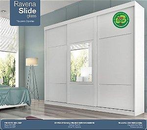 Roupeiro Prada Ravena Slide 3 portas