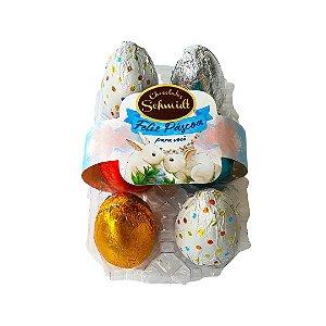 Caixa de ovos de chocolate 120g