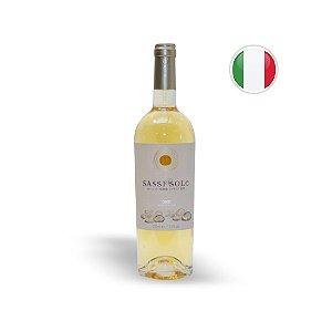 Vinho Italiano Branco Sassi & Sole Cuvee Oro Garrafa 750ML