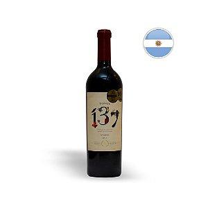 VINHO TINTO ARGENTINO GRAN TONEL 137 MALBEC 750ML