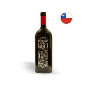 Vinho Chileno Tinto The Winemaker's Secret Barrel Blend Garrafa 1 Litro