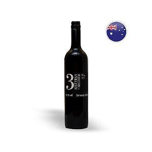 Vinho Australiano Tinto Three Sisters And a Brother Shiraz Garrafa 750ML