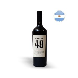 VINHO ARGENTINO TINTO KILOMETRO 49 MALBEC 750ML