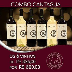 COMBO VINHO CANTAGUA CLASSIC  6 UNIDADES - CABERNET SAUVIGNON, CARMENERE E SAUVIGNON BLANC