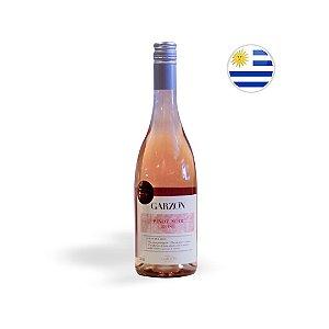 Kit Vinho Uruguaio Rose Garzon Garrafa 750ML + Taça