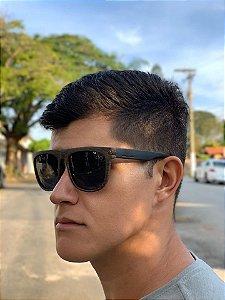 ÓCULOS PRETO/MARROM - REF 004