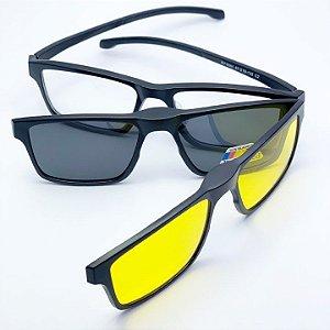 Armação Oculos Grau Solar lip On Premium REF 063