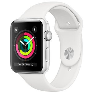 Apple Watch Series 3 42 mm MTF22CL/A A1859 - Prata e branco